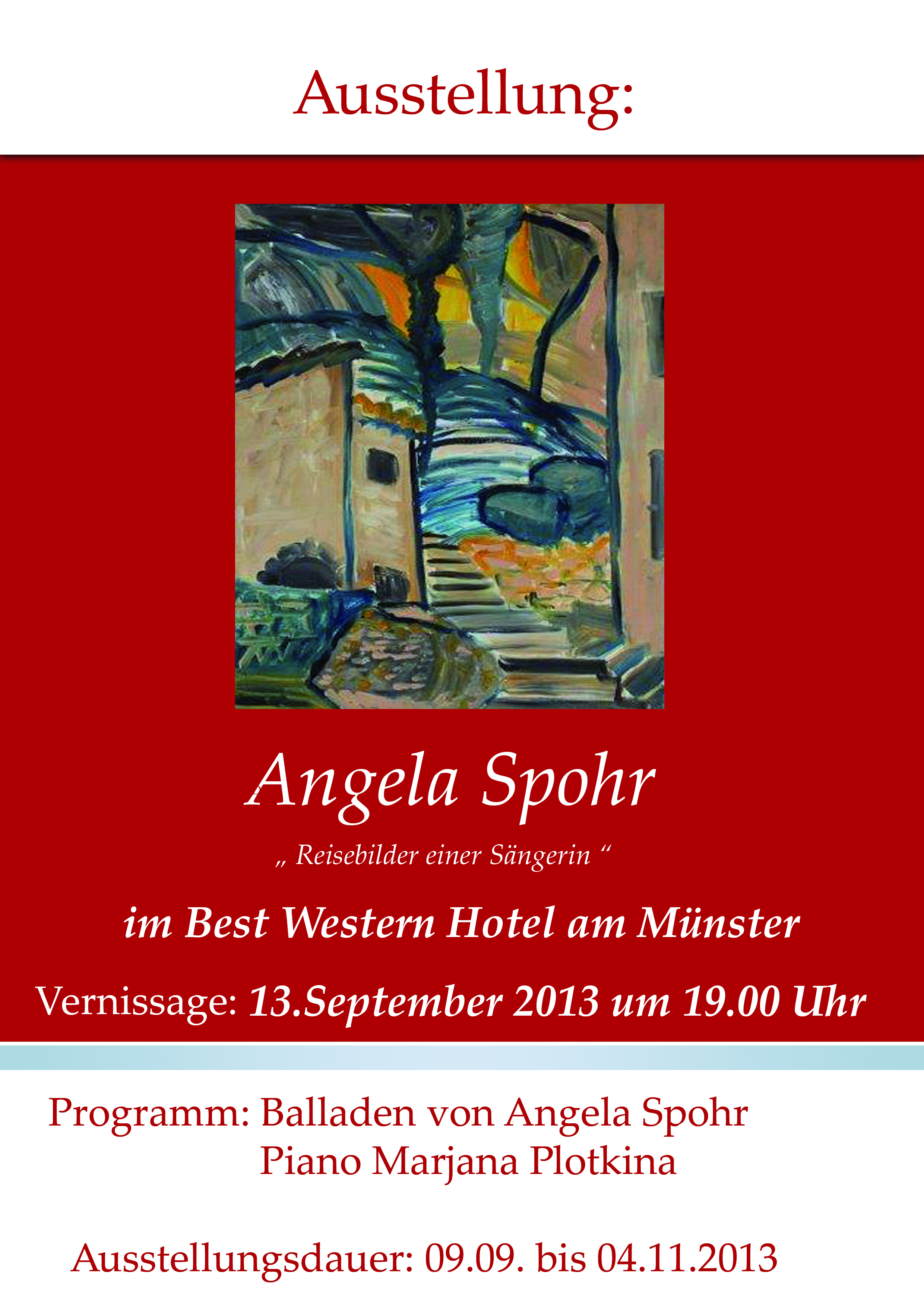 Plakat Angela Spohr