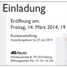 Ausstellung des Künstlers Gerhard Hanemann im A&K Verlag