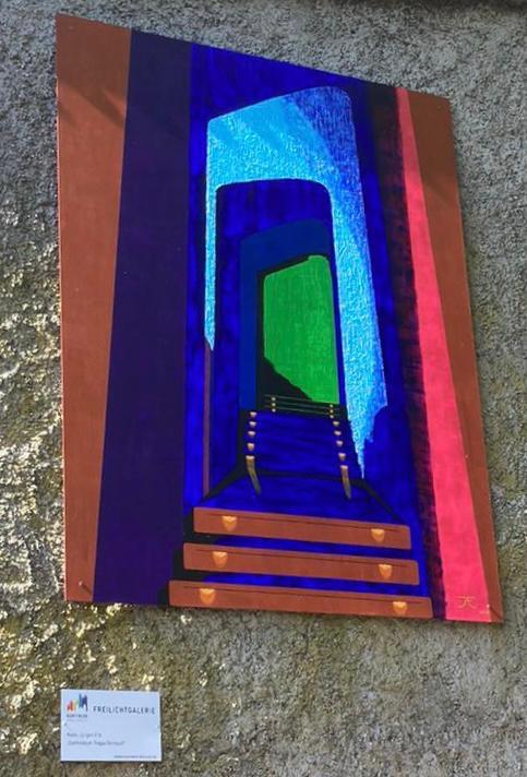 "Jürgen Erb: Goetheanum-Treppe in Dornach   Artur-Uhl-Weg (Eckartsberg)   <a href=""http://galerie-erb.de/"" target=""_blank"">galerie-erb.de</a>"